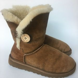 UGG W Bailey Button Bomber Boot